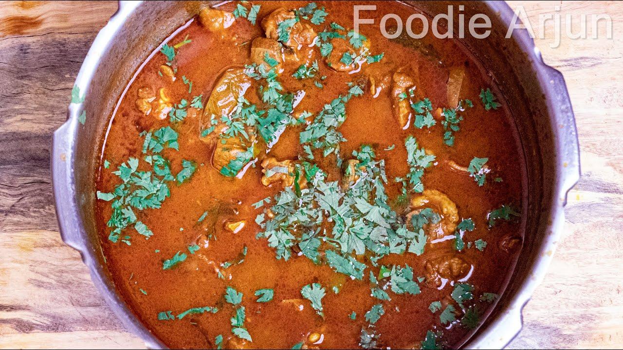 Simple Mutton Kulambu..!!!!! ||||  Simple Mutton Kulambu Recipe