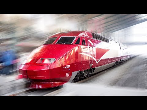 Ride aboard the Thalys from Amsterdam to Paris!