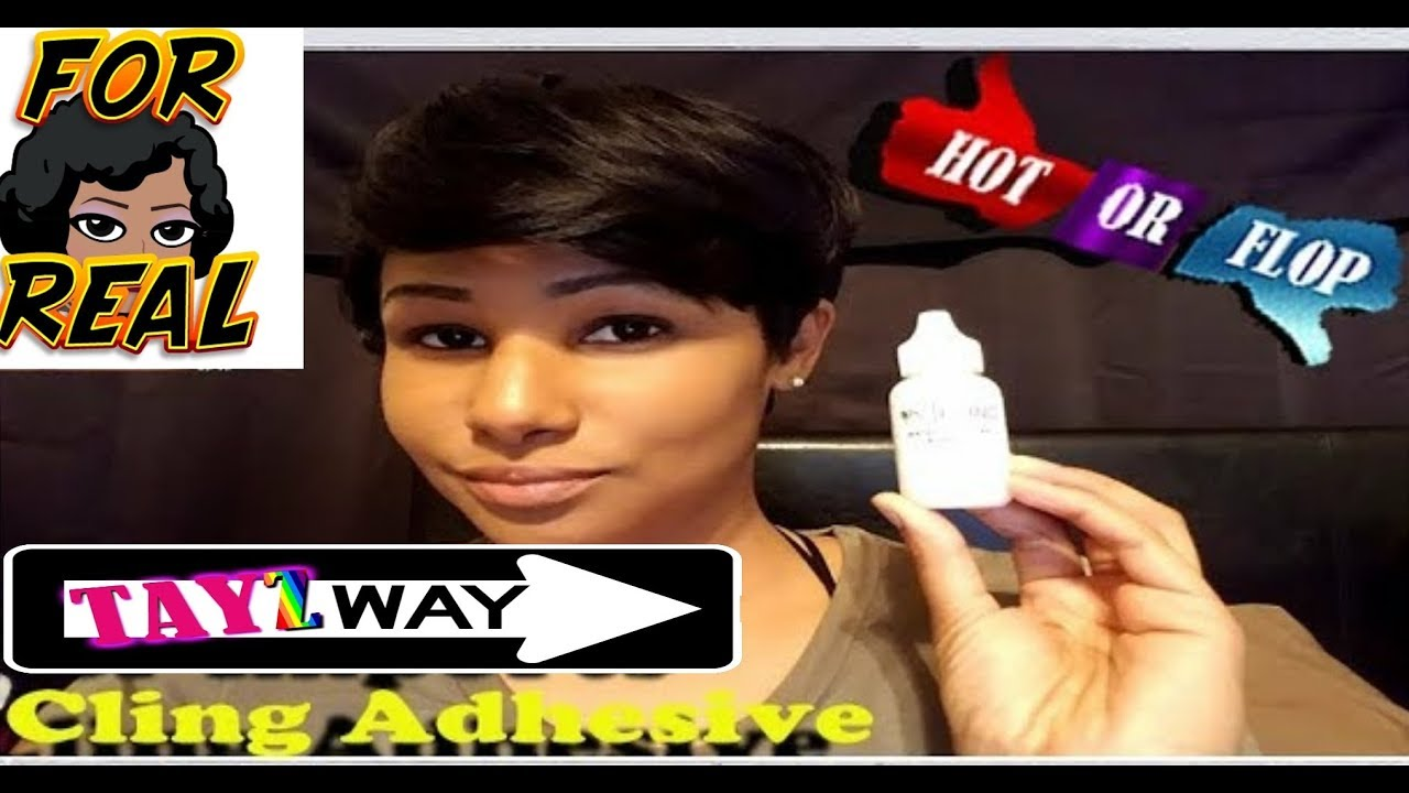 Her Imports Cling Lace Wig Glue Review Youtube