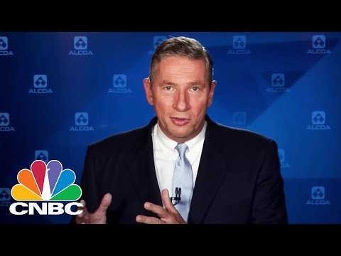 Alcoa CEO Klaus Kleinfeld: Future Of Two New Companies | Mad Money | CNBC