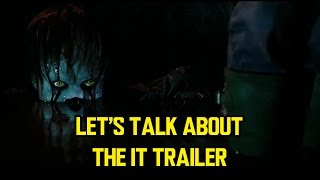 Let's talk about the IT trailer