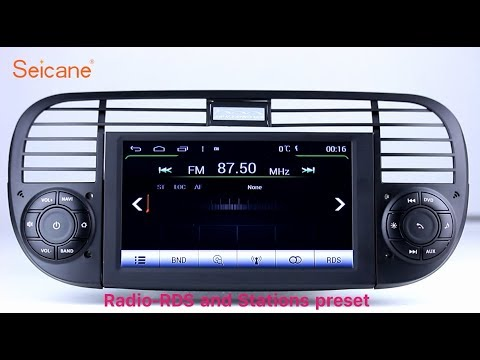 oem 2007 2013 fiat 500 radio dvd gps navigation player. Black Bedroom Furniture Sets. Home Design Ideas