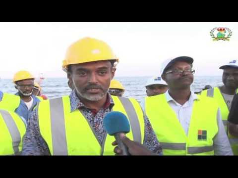 Télécommunications, L'arrivé du câble sous marin de fibre optique SEA ME WE 5 à Djibouti avec l'inte