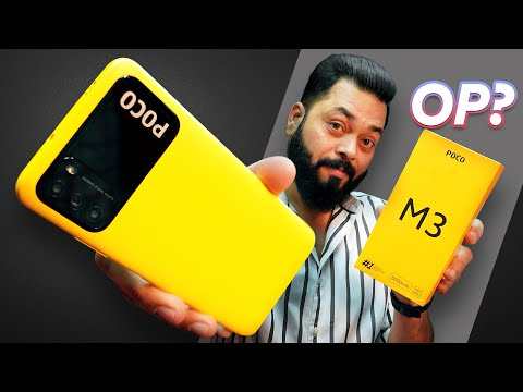POCO M3 Indian Retail Unit Unboxing & First Impressions ⚡ 6GB RAM, 6000MAh Battery, FHD+ @11K