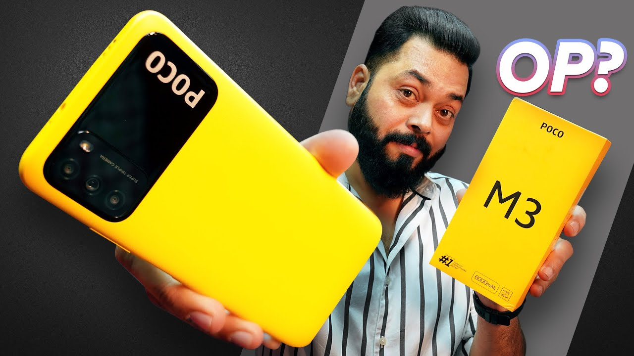 Download POCO M3 Indian Retail Unit Unboxing & First Impressions ⚡ 6GB RAM, 6000MAh Battery, FHD+ @11K