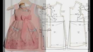 Простые выкройки детских платьев