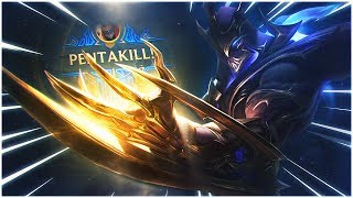 LL STYLISH | MY FIRST PENTAKILL IN EUROPE [INSANE 4V5 GAME]