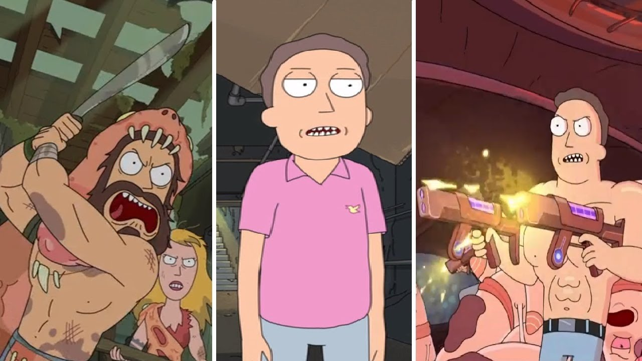 Download Rick and Morty - Different versions of Jerry