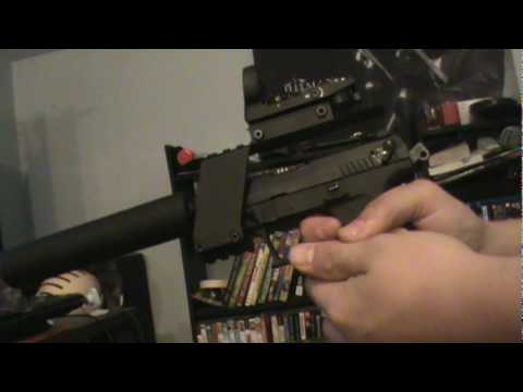 Nc Star Pistol Scope Red Dot Mount With Walther P22 Youtube