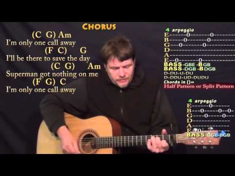 Piano piano chords of one call away : One Call Away (Charlie Puth) Strum Guitar Cover Lesson with Chords ...