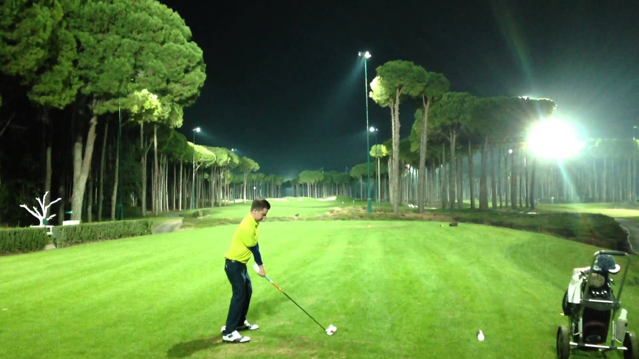 Night Golfs never looked so good at Emirates Golf Club