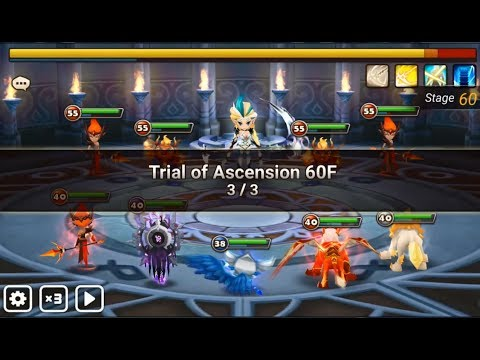 Summoners War Toa Hard 60 Asima June 2017