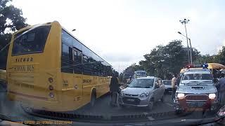School Bus Accident : Doddaballapur Road