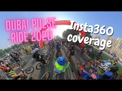 Dubai Pulse Ride 2020 Off-Road Cycling Event   Insta360