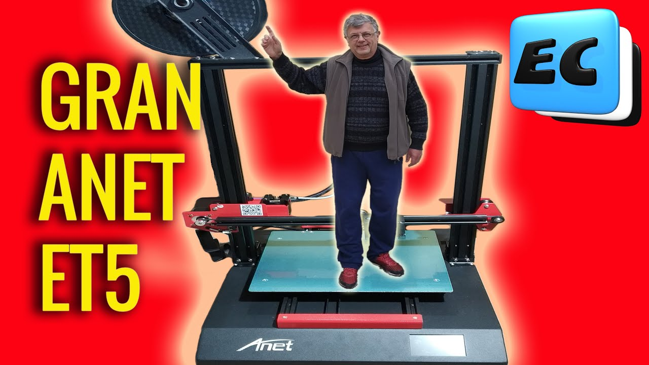 IMPRESORA 3D DE ALTA GAMA ANET ET5 Ultra grande!!! 300X300X400 mm
