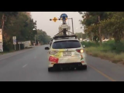 รถอะไรหว่า..ไปสำรวจเส้นทางกับ  google street view car..
