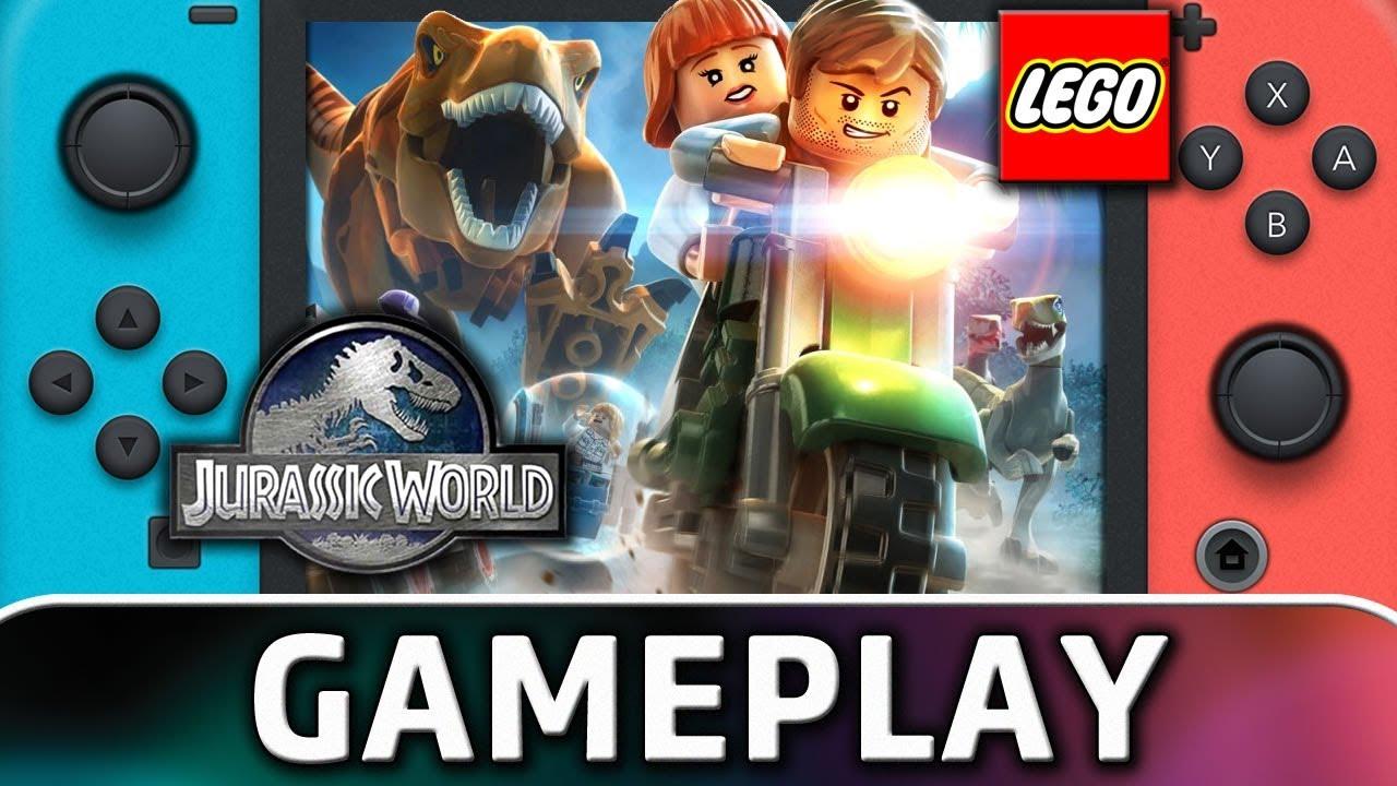 LEGO Jurassic World | First 15 Minutes on Nintendo Switch