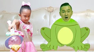 Sarang Becomes a Witch and Transforms into a Dad Frog | Nastya,Diana,Ryan,Shfa