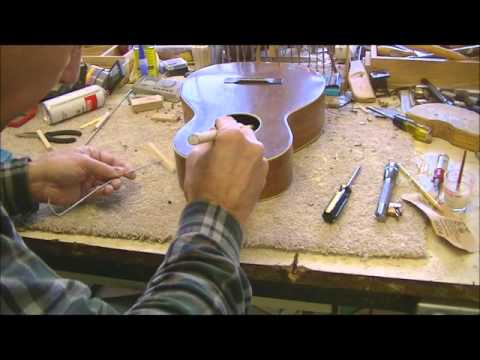 101 RSW Tenor Guitar Ship In A Bottle Repair