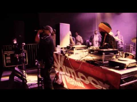 Interview with original ravers Rebel MC and Tenor Fly of Congo Natty @ Outlook Festival