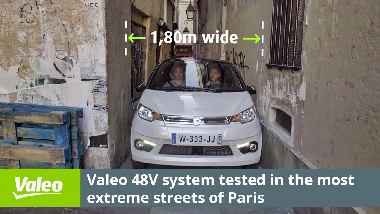 The car of tomorrow and the future of mobility - Valeo
