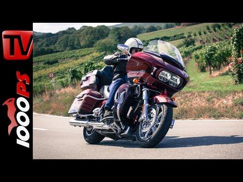 Harley-Davidson CVO Road Glide Ultra   Unfassbarer Luxus   156 Nm