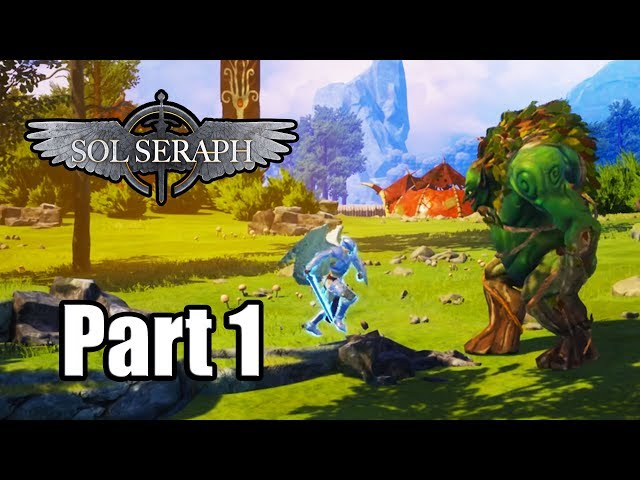 Sol Seraph Review Ps4 Лучише игры для Sony Playstation