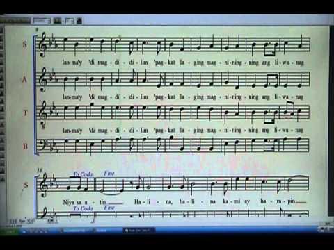 Masaya nating ipaghanda ang pagdating chords piano