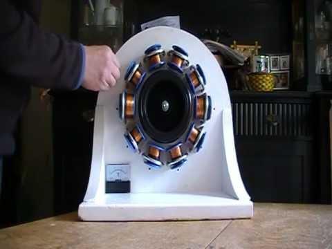 windrad generator eigenbau teil 3 der stator doovi. Black Bedroom Furniture Sets. Home Design Ideas
