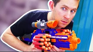 NERF Stealth Mode Challenge!