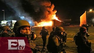 Protestas, saqueos e incendios en Ferguson, Missouri/ Global