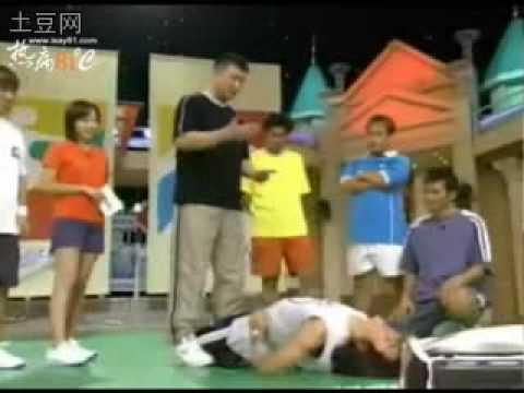 Dongwan and Eric stretching techknics tv