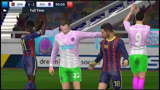 Barcelona vs Real Madrid Dream League Soccer 2018 Android Gameplay #107