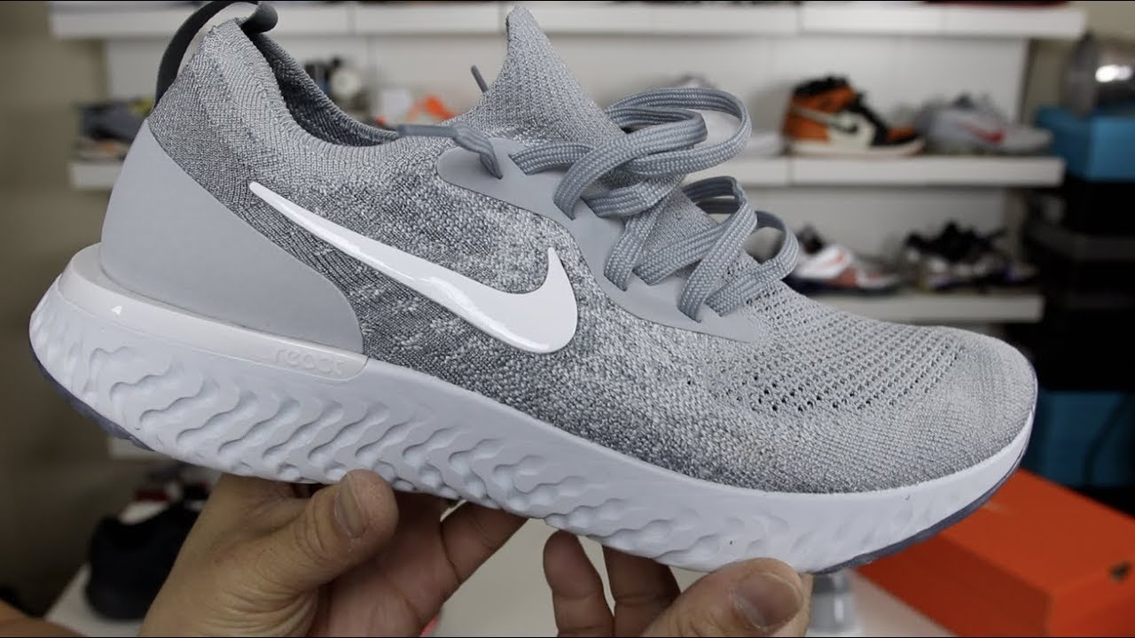 c060177892dab NIKE EPIC REACT FLYKNIT FIRST IMPRESSIONS! - YouTube