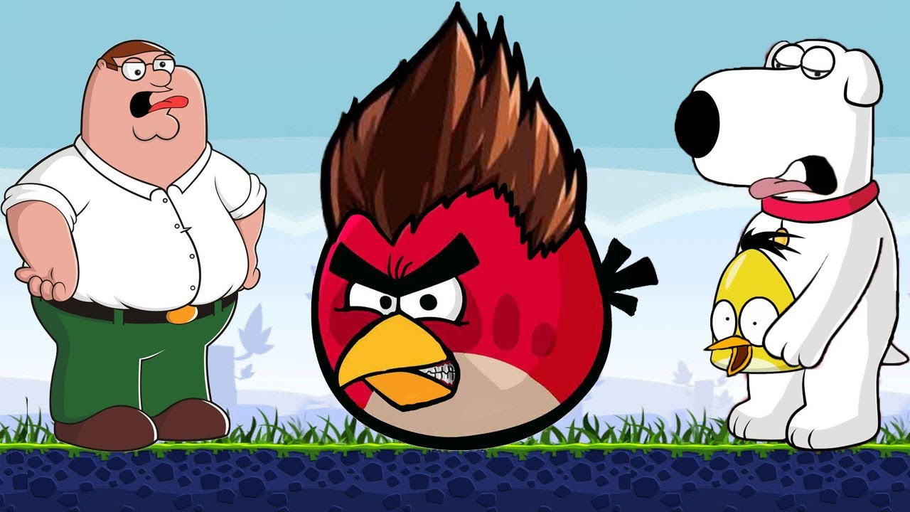 Angry Family Guyangry Birds Meet Peter Griffin - Youtube-9734