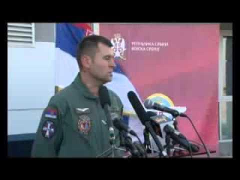 "Download Probni let aviona ""Er Srbija"" u pratnji vojnih aviona 2/2"