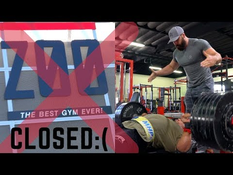 I AM SHUTTING DOWN ZOO CULTURE / 605 LB BENCH WITH LARRY WHEELS