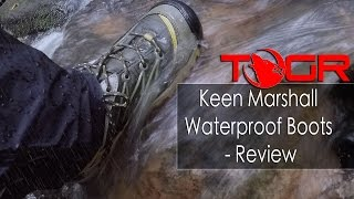 Keen Marshall Waterproof Hiking Boots  - Review