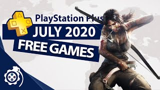 Playstation Plus  Ps+  July 2020