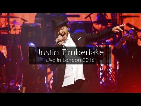 Justin Timberlake Live In London 2016