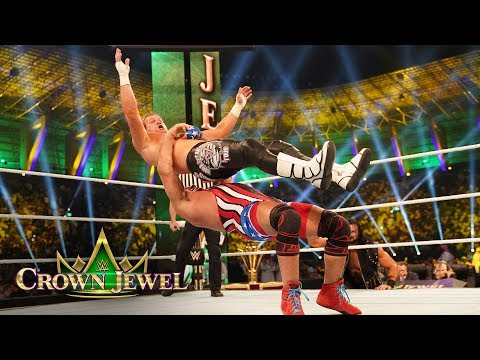 Kurt Angle leaves Dolph Ziggler reeling: WWE Crown Jewel 2018 (WWE Network Exclusive)