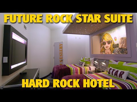 Future Rock Star Suite at Hard Rock Hotel | Universal Orlando