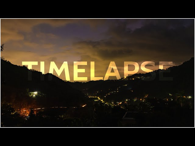 Gordon Town | Timelapse | Sony A7III + Sony 28mm f2
