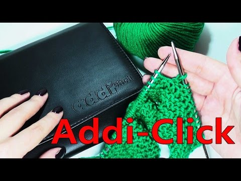 Набор спиц Addi-Click Basic - обзор и отзыв