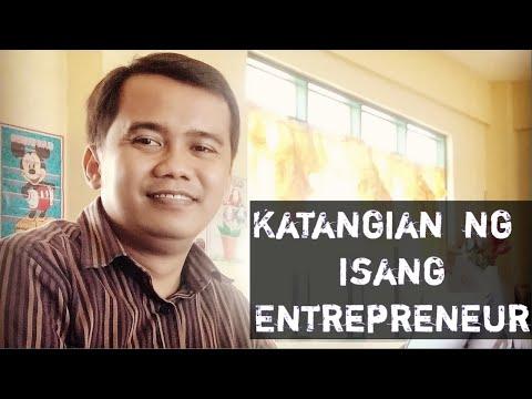 Katangian ng isang Entrepreneur mdodyul 2