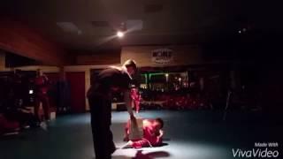 World Martial Arts Center Junior Red Belt Board Breaking Test For Quang