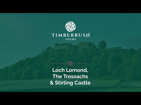 Loch Lomond, Trossachs & Stirling Castle from Glasgow - Video