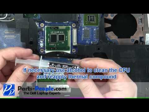 Dell Latitude E6420 CPU Processor Replacement Video Tutorial