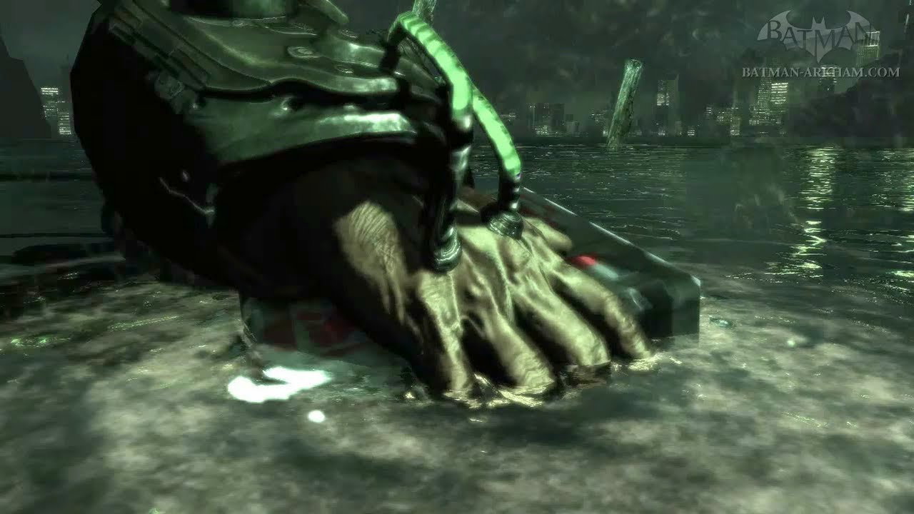 batman arkham asylum killer croc ending a relationship