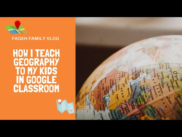 Google Classroom: How I teach Geography 4 kids | Our homeschooling journey | Malay Version
